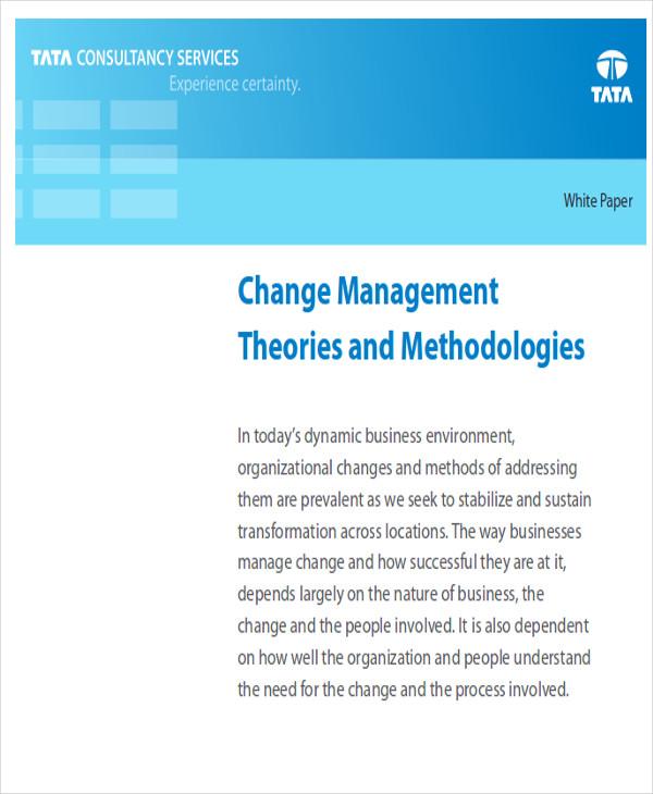 free change management report