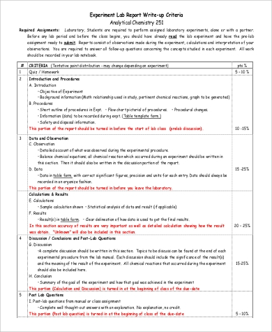 lab report for chemistry Do you happen to be struggling with writing your lab report diversity in work done- you can get a chemistry lab report feel free to buy a lab order now.