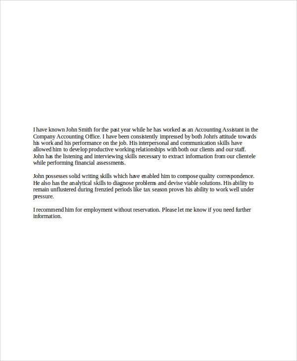 Job Letter Of Reference From Employer from images.sampletemplates.com