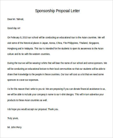 sponsorship proposal letter1