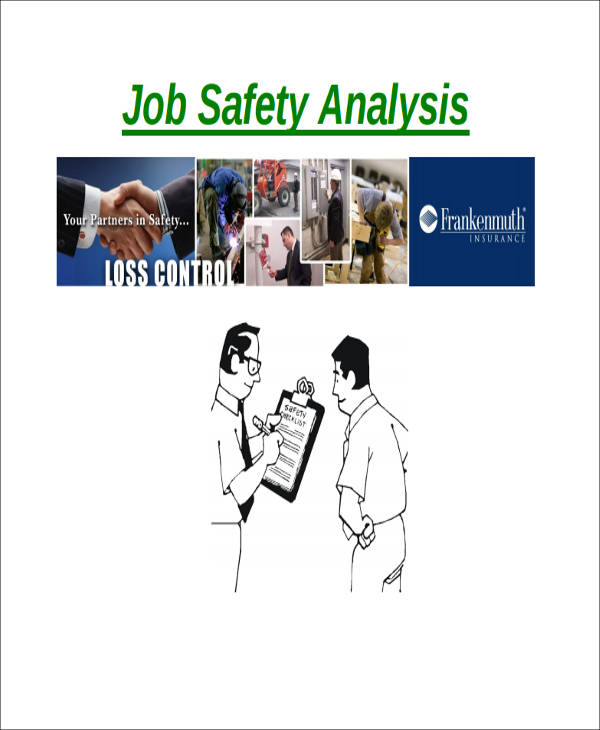 job safety analysis report