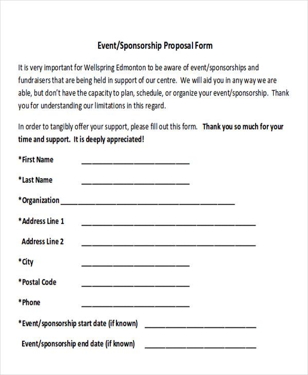 event sponsorship proposal form1
