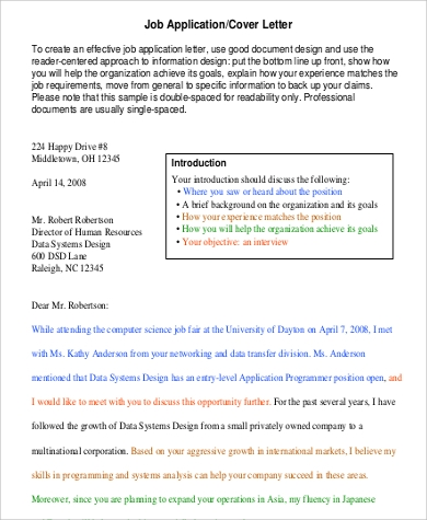 SAP Consultant Cover Letter   Format And Template