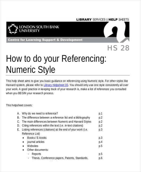 Professional Reference List Sample 7 Examples In Word Pdf