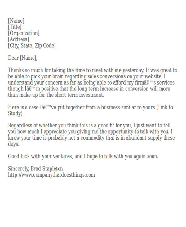 business meeting thank you letter5