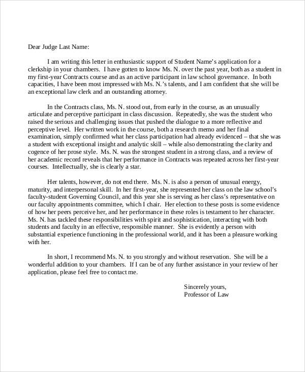 professional recommendation letter 36  Sample Recommendation Letters in PDF | Sample Templates