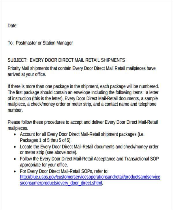 business letter format complaint