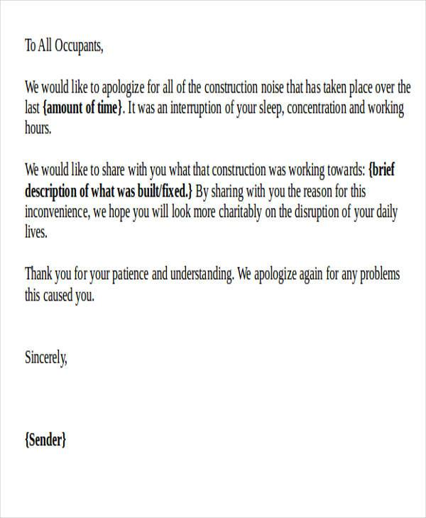 Hotel Apology Letter  WowcircleTk
