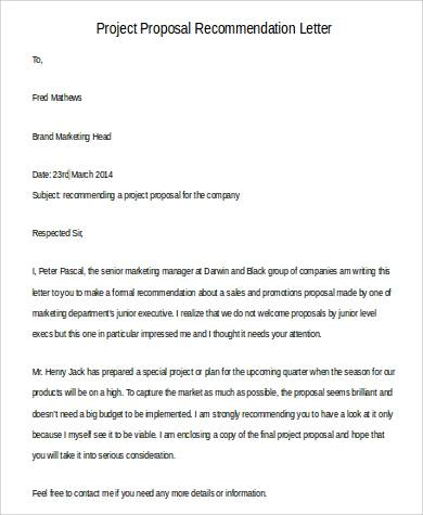 Project Proposal Letter Informal Proposal Letter Example Writing A