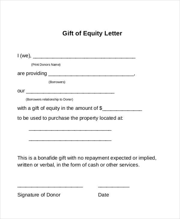 Gift Letter Template For Currency from images.sampletemplates.com