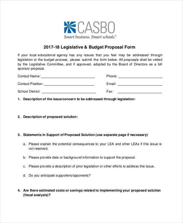 agency budget proposal form3