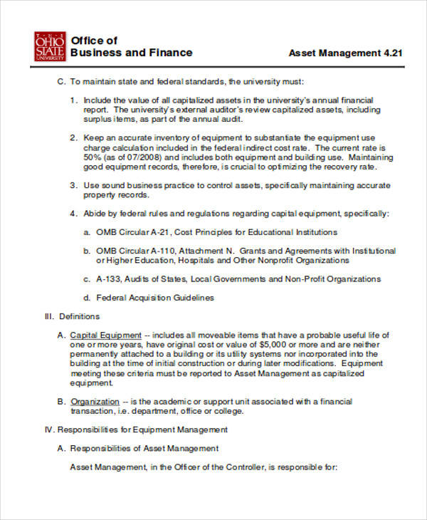asset management requisition form