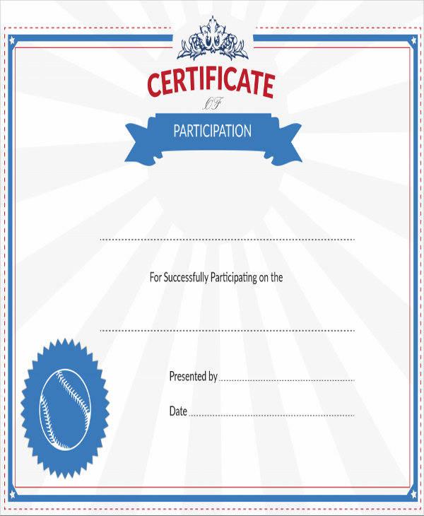 Sports Certificates In Pdf