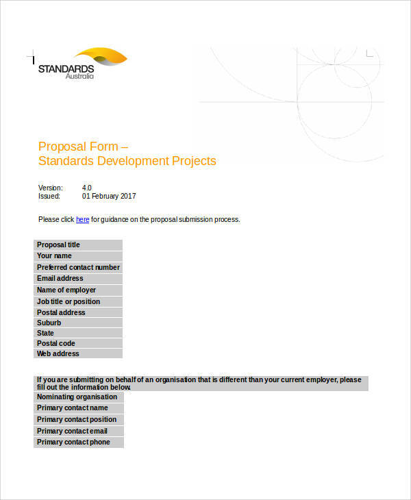 basic project proposal form1