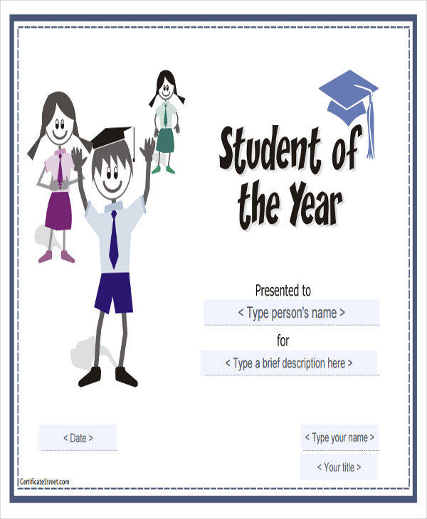 best student award certificate2