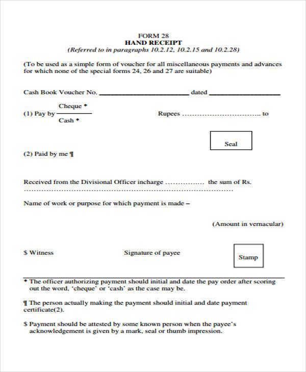 blank hand receipt form1