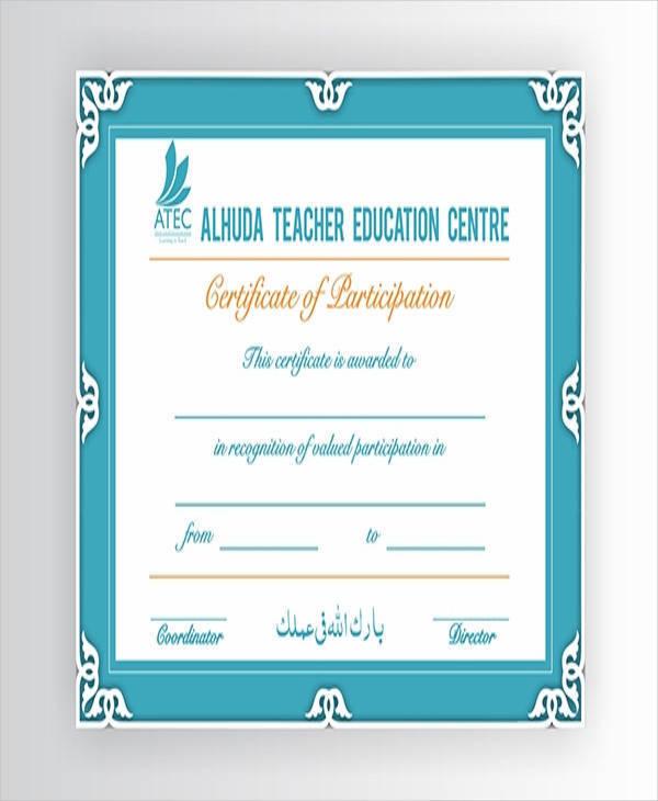 blank teacher training certificate1