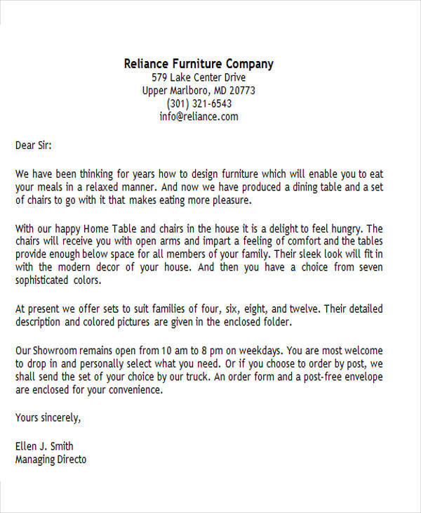 45 Business Letter Examples | Sample Templates