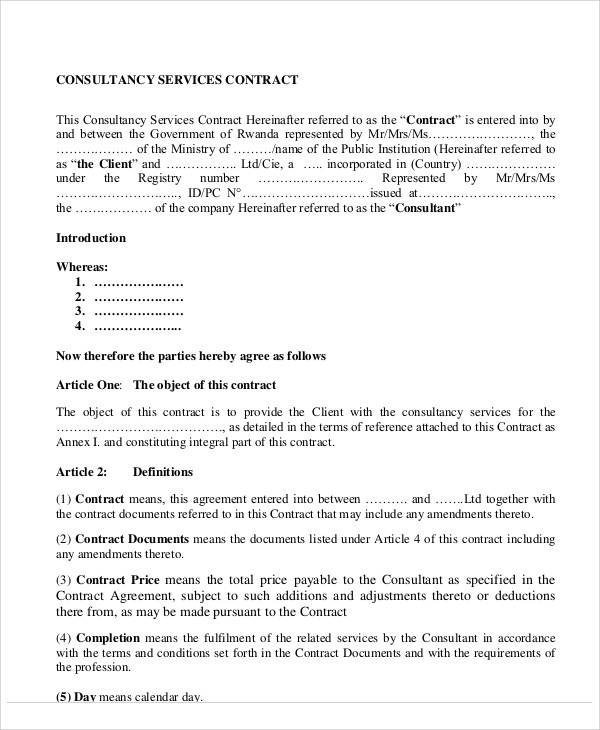 business consulting services agreement1