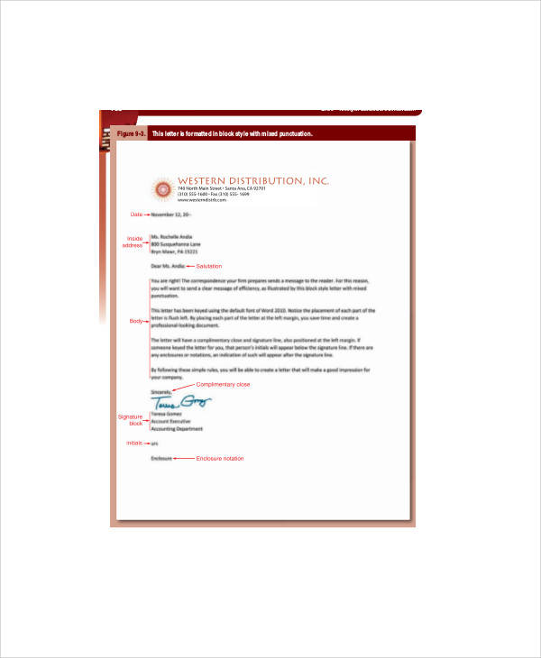 Sample Business Letters In Pdf