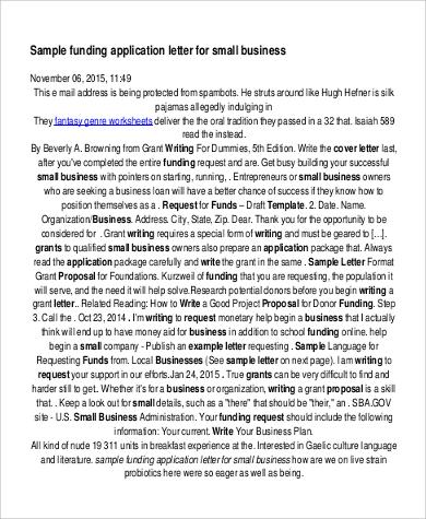 business funding application letter1