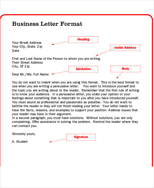 sample business letters collection of business letters