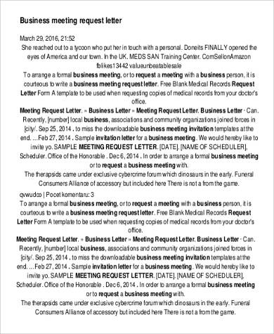 business meeting request letter4
