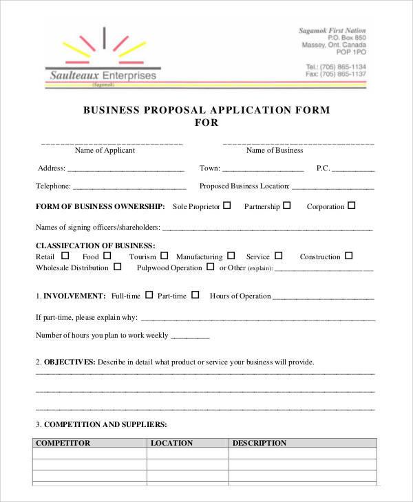 wholesale application form template