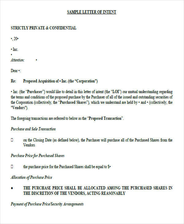 business purchase letter of intent3