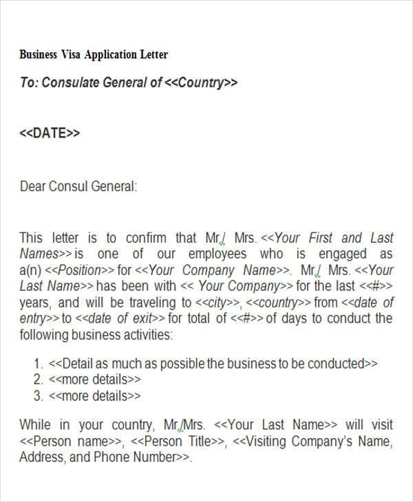 44 business letter examples business visa application altavistaventures Image collections