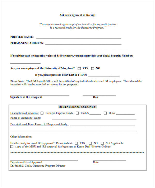 cash receipt acknowledgment form1