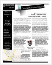 church-newsletter-articles