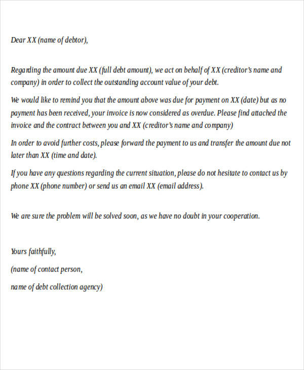collection agency demand letter1