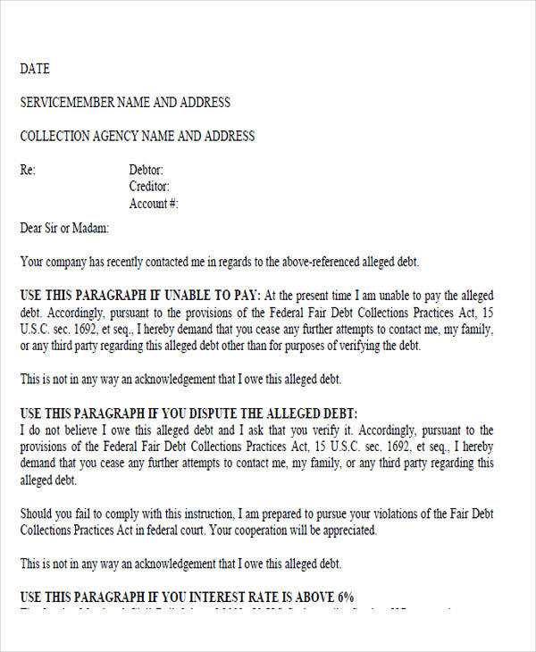 collection agency demand letter3