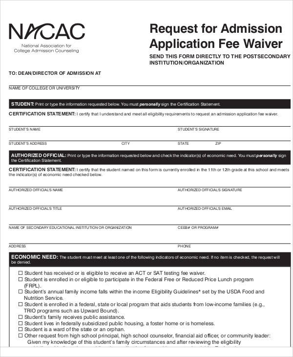 College Application Fee Waiver College Paper Service