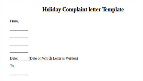 36+ Complaint Letter Examples