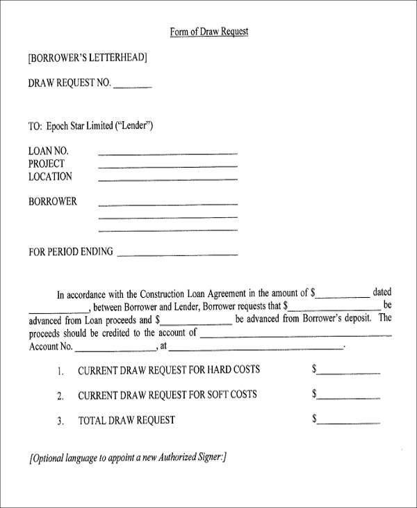 Agreement Form Format