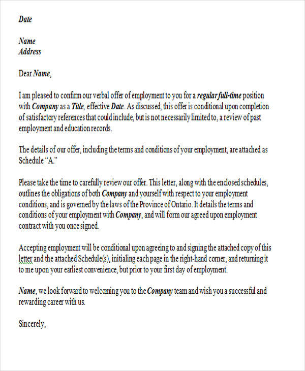 contract employment resignation letter