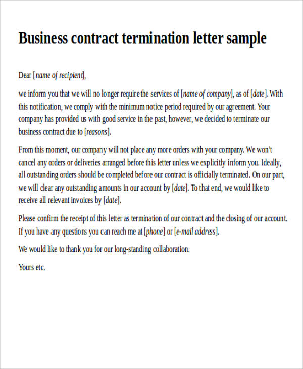 35 Agreement Letter Formats Sample Templates
