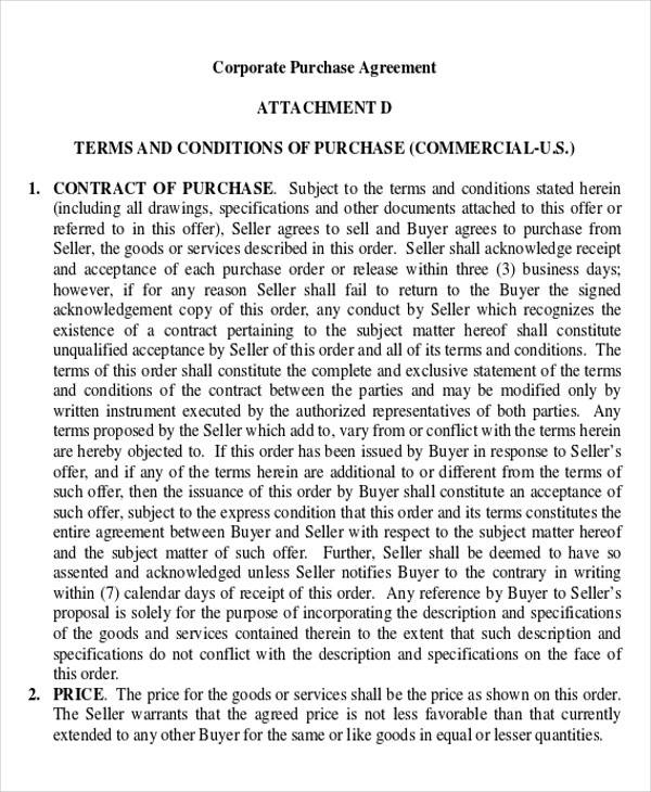 Doc618800 Commercial Purchase Agreement COMMERCIAL PURCHASE – Commercial Purchase Agreement