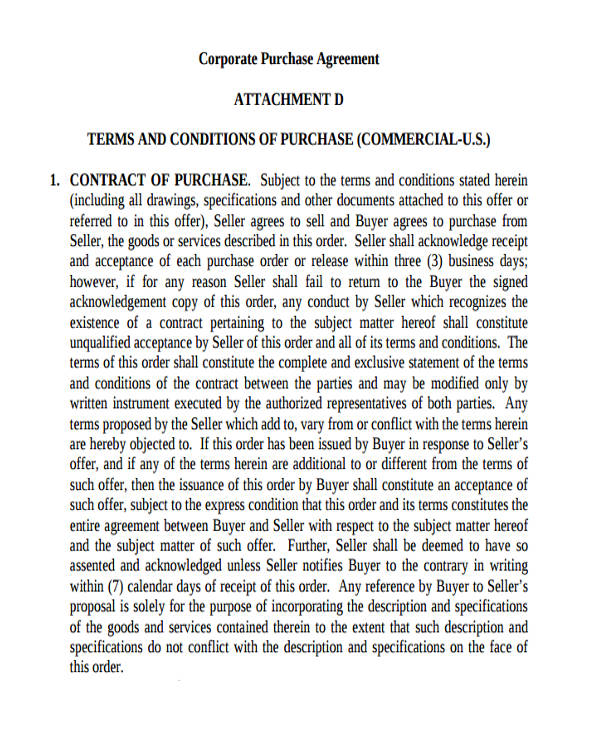 corporate commercial purchase agreement1
