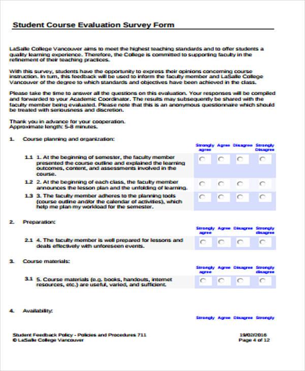 course evaluation survey form1