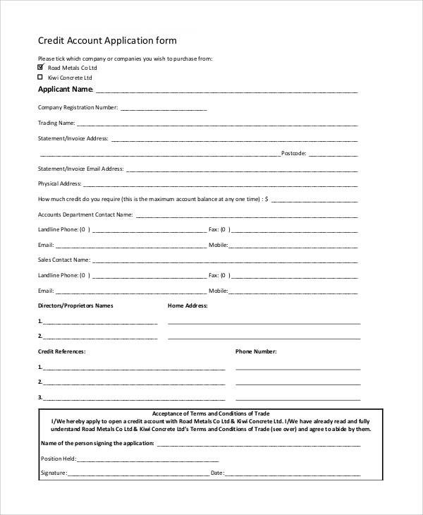 app terms and conditions template - 66 basic application forms sample templates