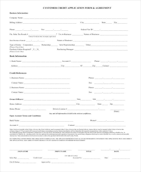 74 sample application forms in pdf sample templates