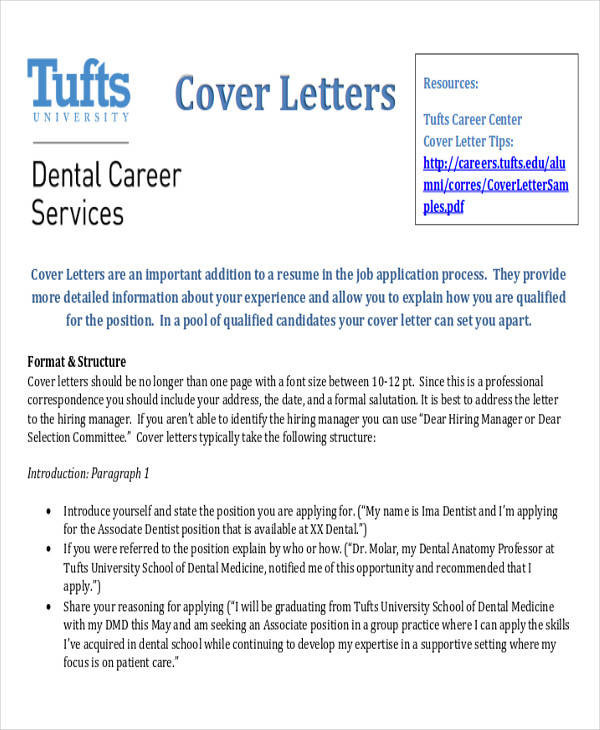 career cover letter