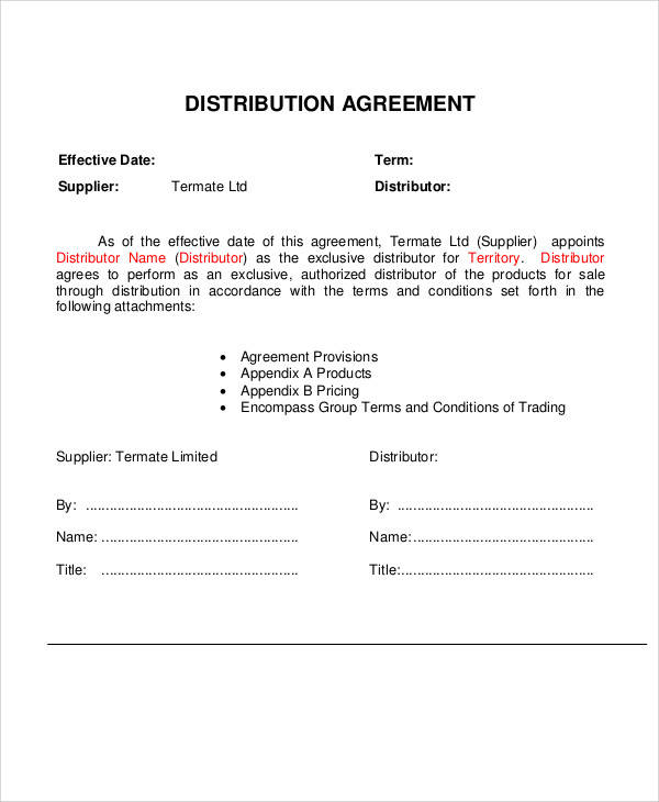 Software Reseller Agreement Template  Free Downloads Programs