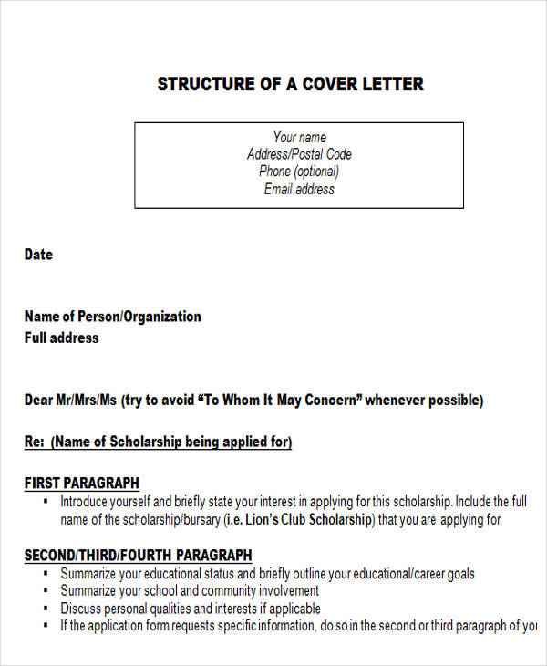 letter of intent for scholarship letter of intent formats 58 examples in pdf word 20897 | District Scholarship Letter of Intent