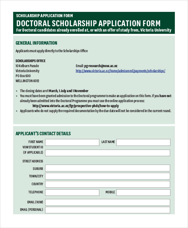 doctoral scholarship application form1