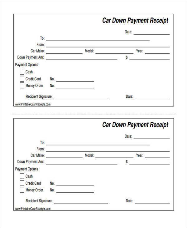 down payment receipt1