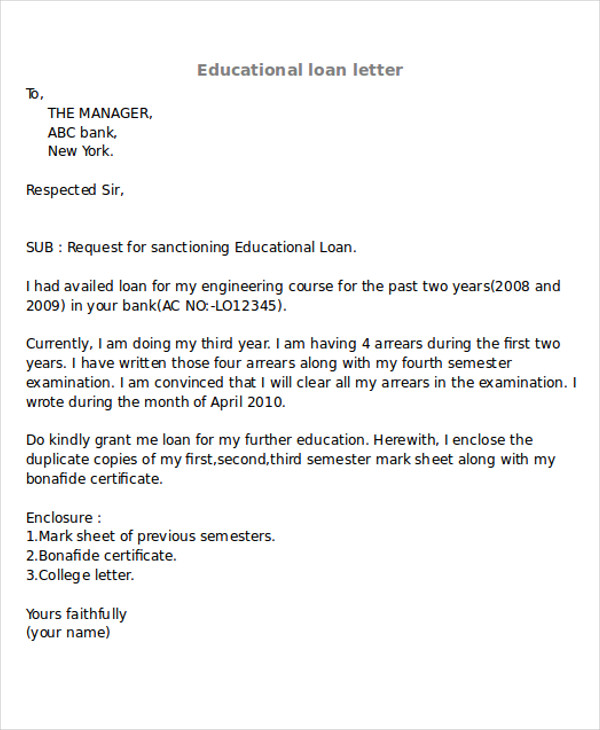 31 Application Letter Sample